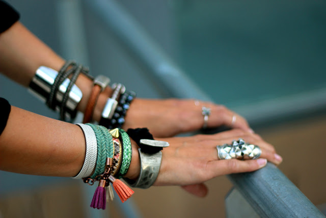 summer-arm-party-bracelets-metals-color-coohuco