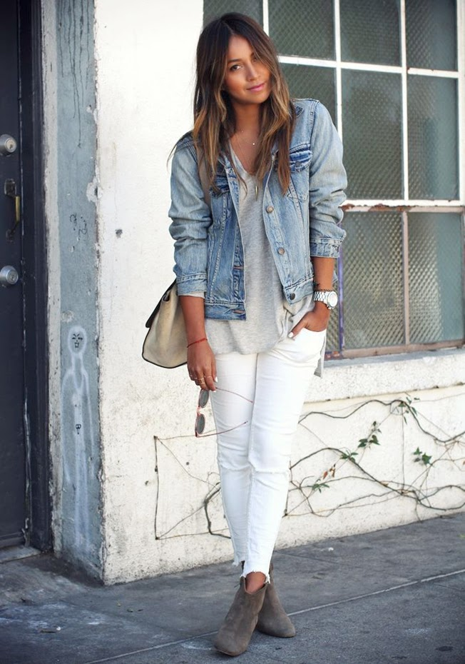 sale retailer 2fa2b 87e59 Trend allert : denim jacket | Style Shouts