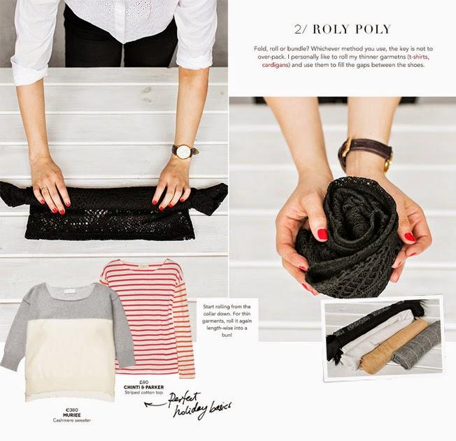 Come Piegare I Vestiti : Come fare la valigia perfetta art of packing style shouts
