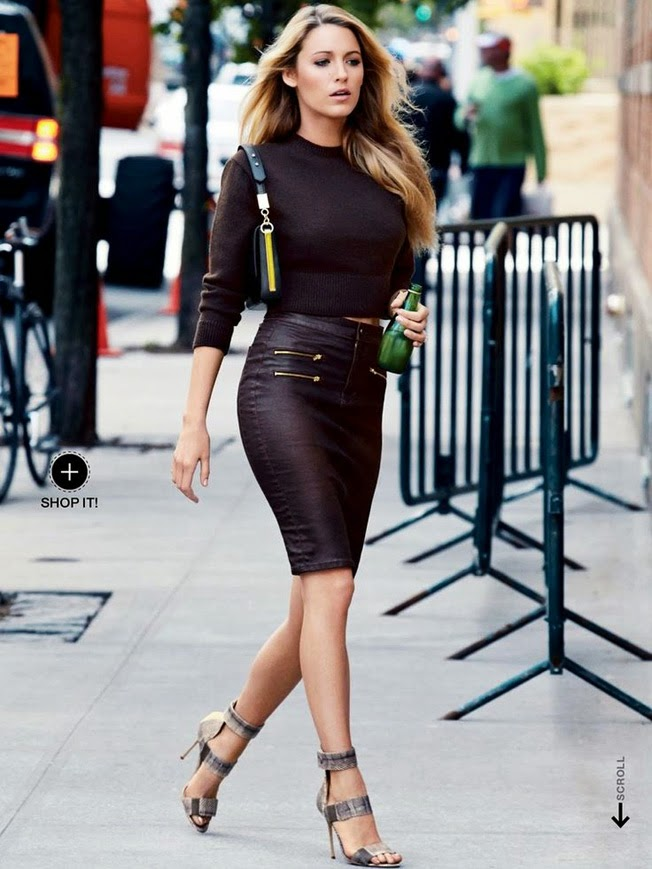 promo code a7b8b 24cb3 Must have : leather pencil skirt | Style Shouts
