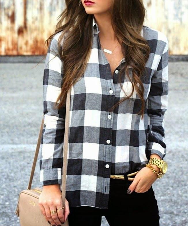 Favorito Trend alert: check shirt , la camicia a quadri non fa più pic nic  SI12