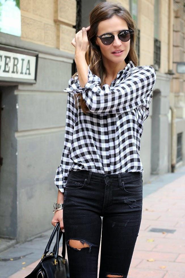 Ben noto Trend alert: check shirt , la camicia a quadri non fa più pic nic  YI64