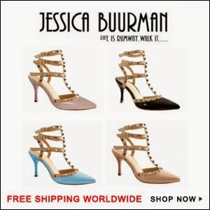 La femminilità parte dalle scarpe. Jessica Buurman lo sa.