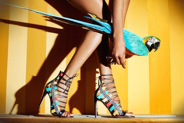 aquazzura scarpe pappagallo moda donna fashion