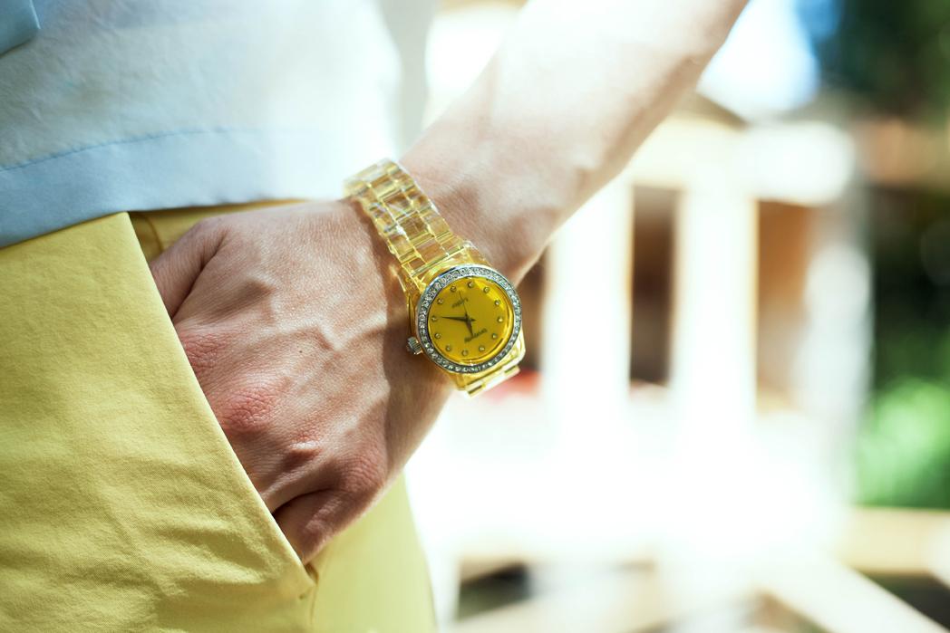 orologio-giallo-brosway