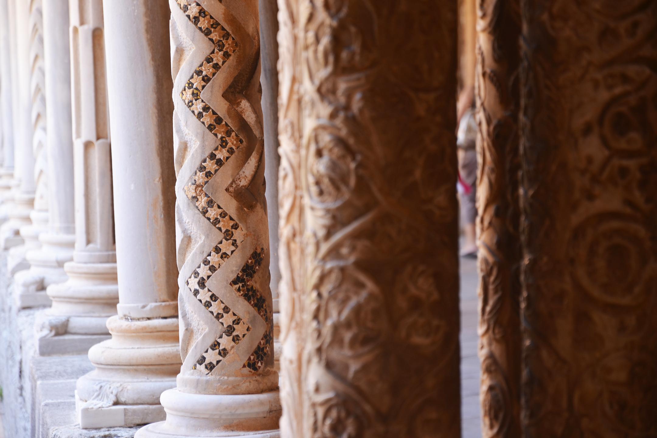 alessia-canella-sicilia-monreale-cattedrale-colonne-dorate
