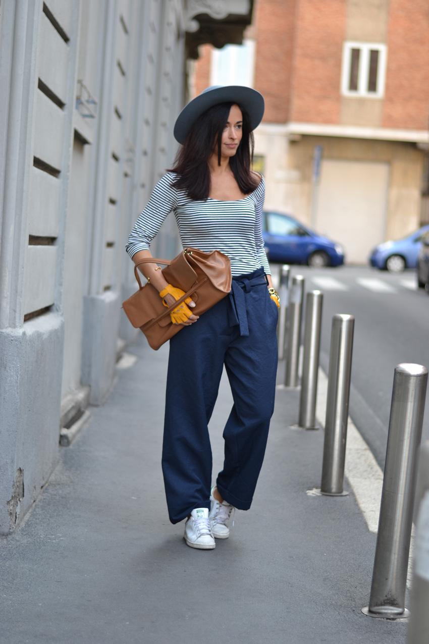 pantaloni-dououdwoman-completo-blu