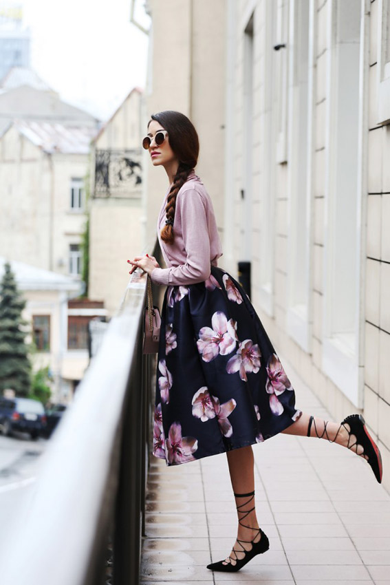 floral-skirt-romantic-style