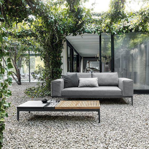 salotto-giardino