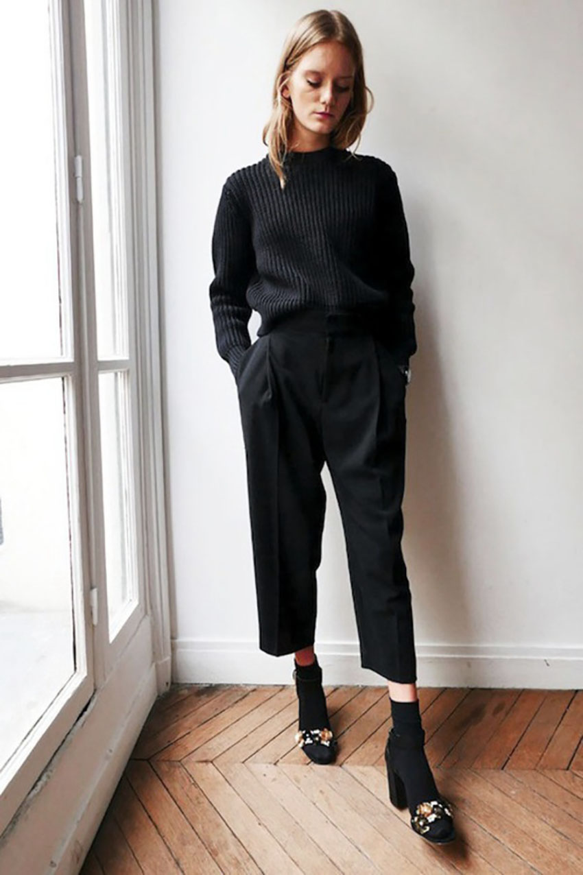 Culottes Style Shouts Trend Fashion Pantaloni I zWZ4q