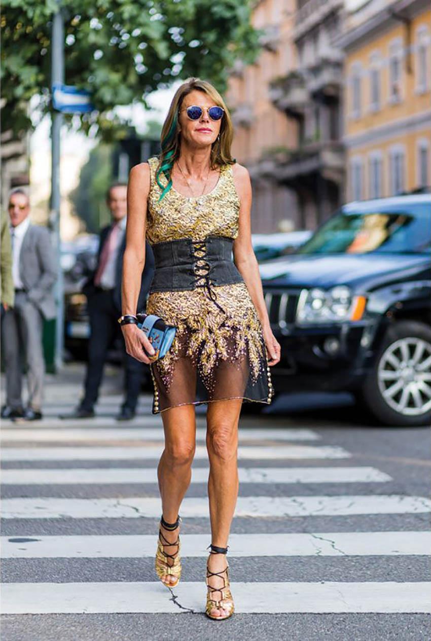 anna_Dello_russo_corset_abbinamento
