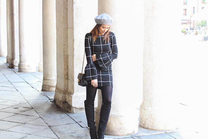 blog-italia-fashion-trend-2018-righe-nero-vestito