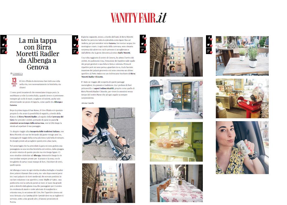 rassegna stampa vanity fair 13 maggio