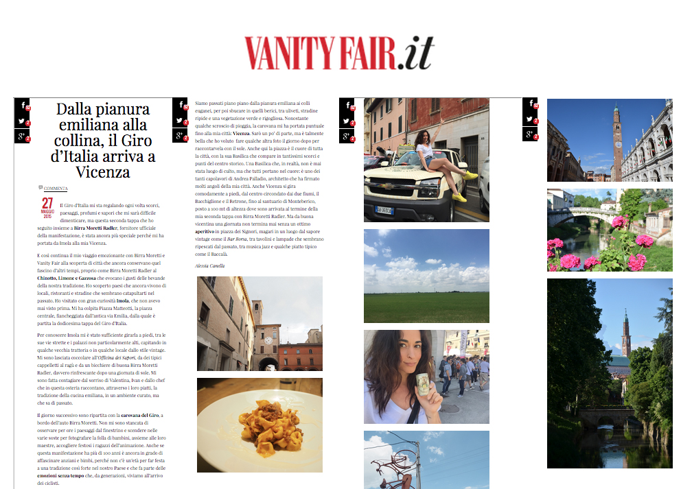 rassegna stampa vanity fair 27 maggio