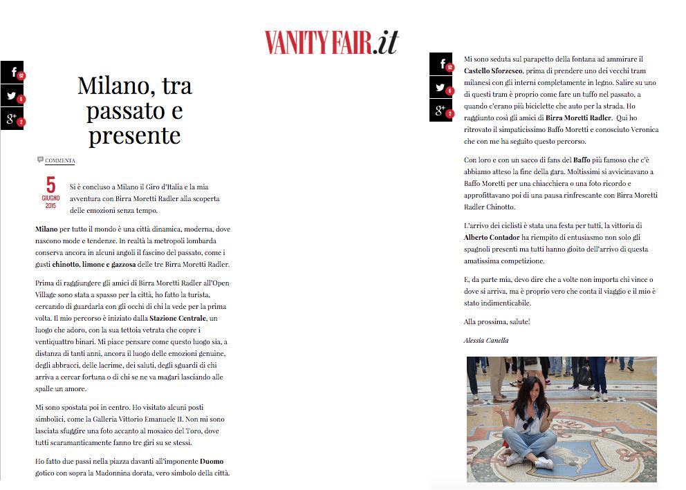 rassegna stampa vanity fair 5 giugno
