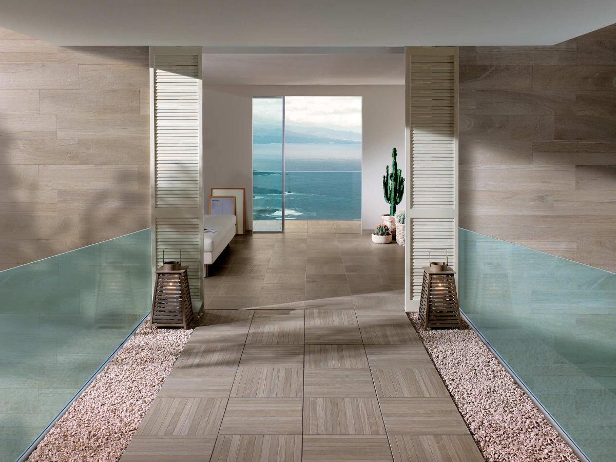 Casa al mare arredata in stile moderno